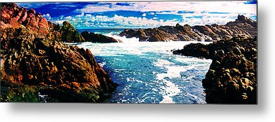 Ebbing Tide Metal Print by Phill Petrovic