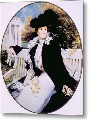 Edith Roosevelt 1861-1948, First Lady Metal Print by Everett