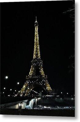 Eiffel Tower - Paris Metal Print by Marianna Mills