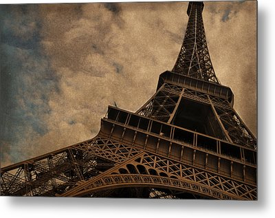 Eiffel Tower 2 Metal Print by Mary Machare