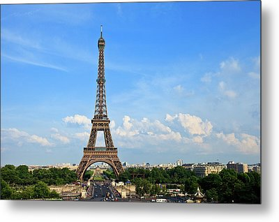 Eiffel Tower Metal Print by Kelly Cheng Travel Photography