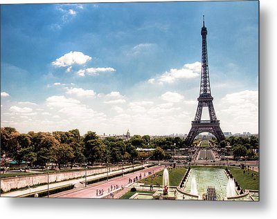Eiffel Tower Metal Print by Photo by Stuart Gleave