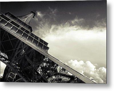 Eiffel Tower Metal Print by Simona Dumitru