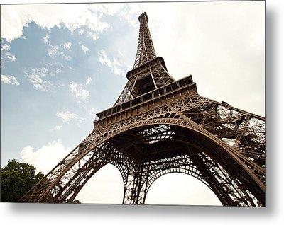Eiffel Tower Metal Print by Timothylui1105