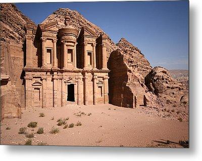 El Deir, The Monastery, Petra, Jordan Metal Print by Joe & Clair Carnegie / Libyan Soup