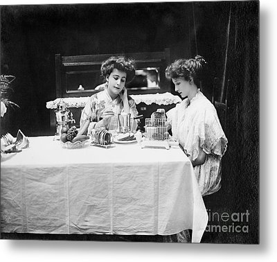 Electric Cookware, 1908 Metal Print by Granger