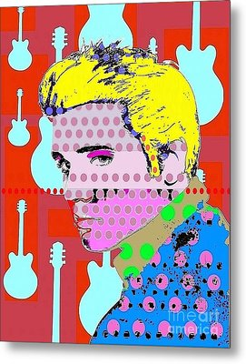 Elvis Metal Print by Ricky Sencion