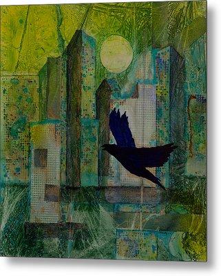 Emerald City Metal Print by David Raderstorf