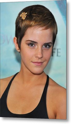 Emma Watson At Arrivals For Harry Metal Print by Everett