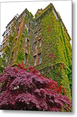 Empress Hotel - Victoria Canada - 02  Metal Print by Gregory Dyer