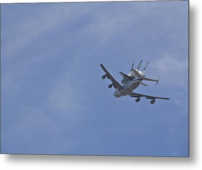 Endeavour's Last Flight Metal Print by Molly Heng