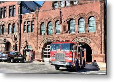 Engine 33 Metal Print by JC Findley