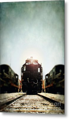 Engine795 Metal Print by Stephanie Frey