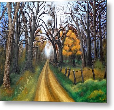 Entangled Metal Print by Amity Traylor