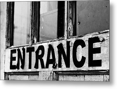 Entrance Metal Print by Off The Beaten Path Photography - Andrew Alexander