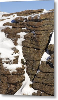 Eroded Granite Metal Print by Duncan Shaw