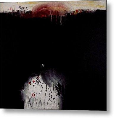 Eruption  Viii. Metal Print by Jorgen Rosengaard