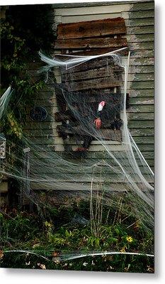 Escaping The Web Metal Print by LeeAnn McLaneGoetz McLaneGoetzStudioLLCcom