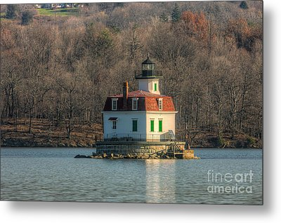 Esopus Meadows Lighthouse I Metal Print by Clarence Holmes