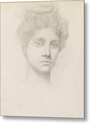 Ethel Pickering Metal Print by Evelyn De Morgan