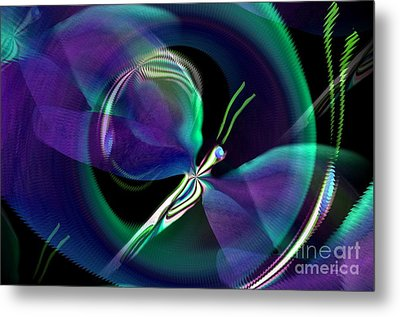 Eve Of The Dragonfly Metal Print by Maria Urso