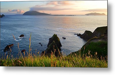 Evening In Kerry Metal Print by Barbara Walsh