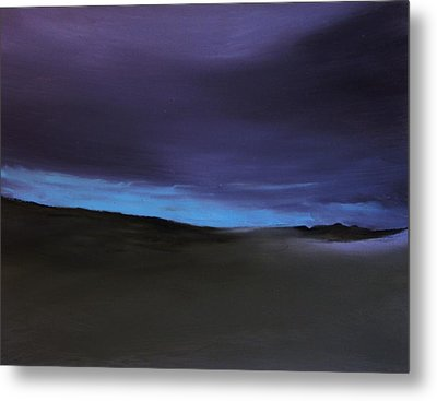 Evening Light Metal Print by Michael Marrinan
