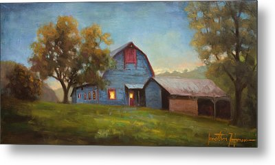 Evening Sanctuary Metal Print by Jonathan Howe