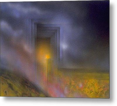 Event Horizon Metal Print by Michael Cook