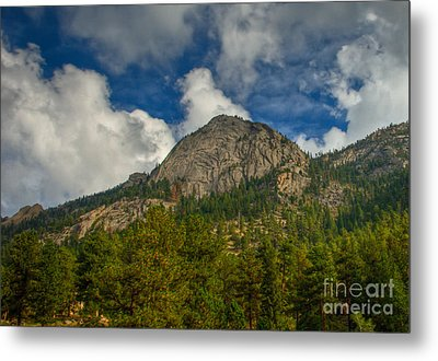 Exfoliation Dome Of Macgregor Mountain Metal Print by Harry Strharsky