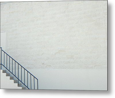 Exit Only Metal Print by Lenore Senior