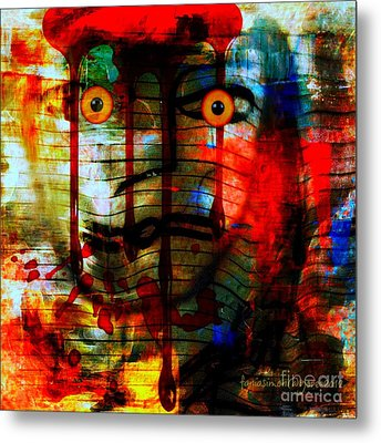 Expectation And Trust Metal Print by Fania Simon