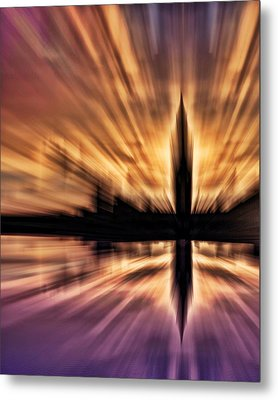 Exploding Powers Metal Print by Sharon Lisa Clarke