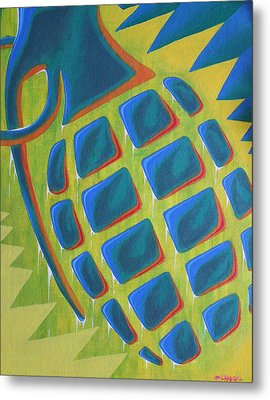 Explosion Of Color Metal Print by Landon Clary