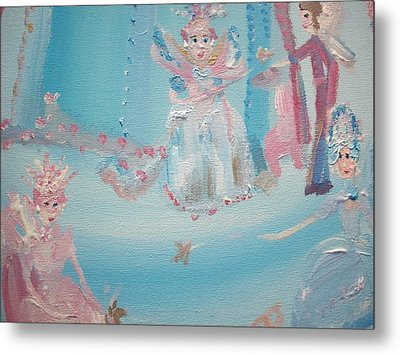 Fairy Godmother Convention Metal Print by Judith Desrosiers