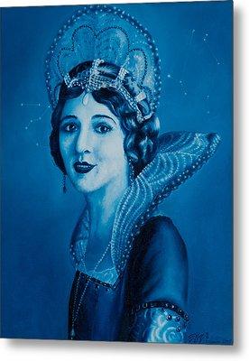 Fairy Godmother Metal Print by Eliza Furmansky