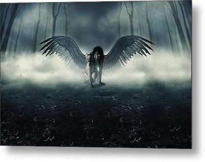 Fallen Angel Metal Print by Ryan Shaffer