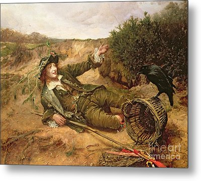Fallen By The Wayside Metal Print by Edgar Bundy