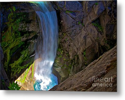 Falling Cristine Metal Print by Marcus Angeline