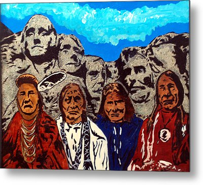 Famous Fathers Metal Print by Mike Holder