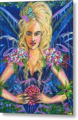 Fantashia Fae Metal Print by Kimberly Van Rossum