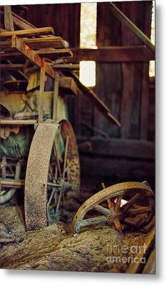 Farm Equipment Metal Print by HD Connelly
