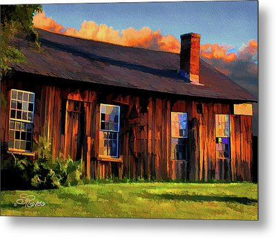 Farrier's Shed Metal Print by Suni Roveto