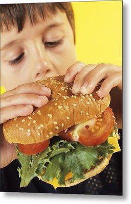Fast Food Metal Print by Ian Boddy