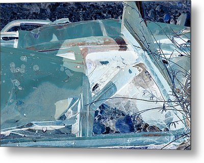 Fasten Your Seat Belt Metal Print by Diane montana Jansson