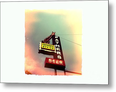 Father's Office Metal Print by Nina Prommer