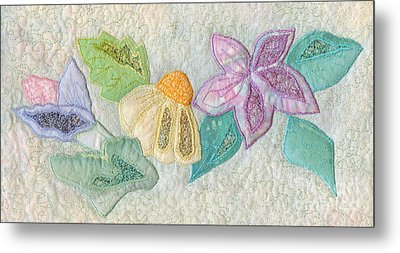 Favourite Lacy Blooms Metal Print by Denise Hoag