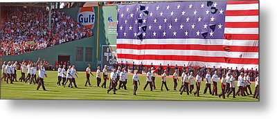 Fenway Park 100th Metal Print by Joann Vitali