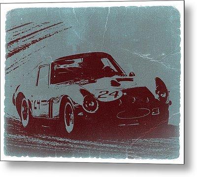 Ferrari Gto Metal Print by Naxart Studio