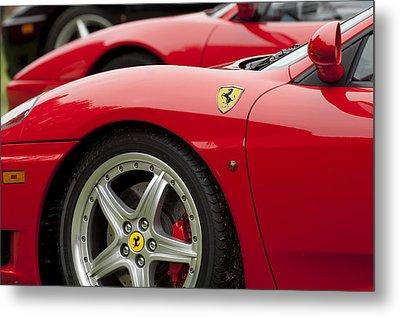 Ferraris 5 Metal Print by Jill Reger